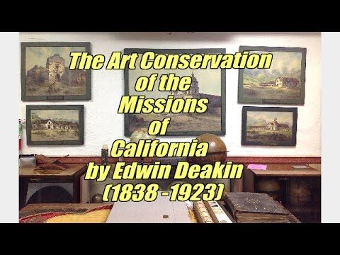 Click here for short video painting conservation lab tour: http://www.FineArtConservationLab.com Click here for the website of Santa Barbara Mission Archives...
