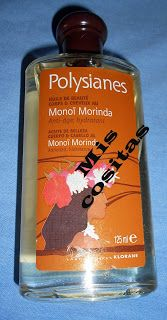 miscositas: Aceite de Monoï Morinda de Polysianes