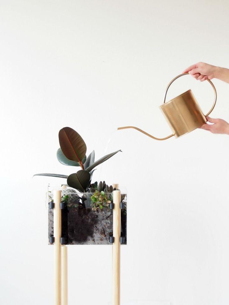 DIY Contemporary NOMESS Planter, greens, plants, urban jungle