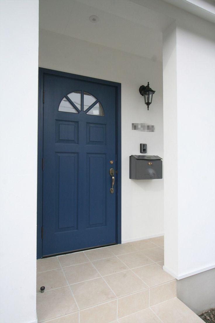 玄関ドア/ドア/無垢ドア/輸入ドア/扉/注文住宅/施工例/ジャストの家/door/house/homedecor/housedesign