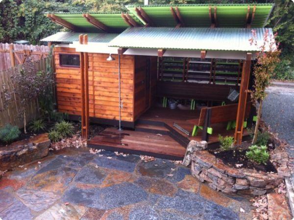 Sauna Next to Patio
