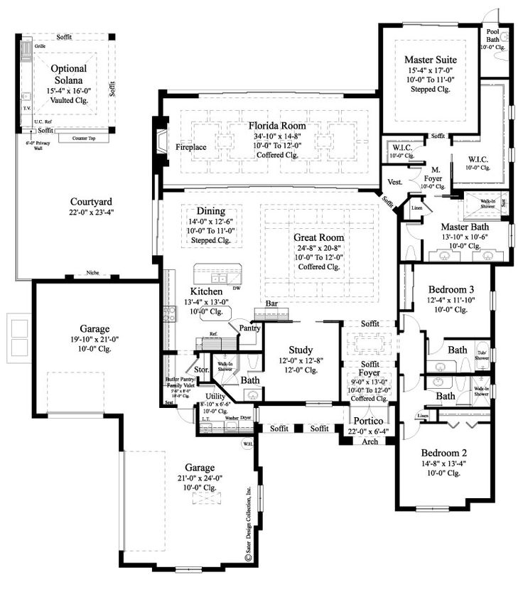 One Story Luxury Home Designs: 25+ Best Ideas About Luxury Home Plans On Pinterest