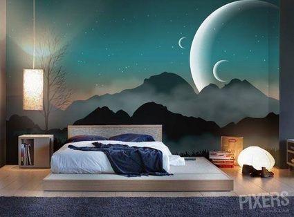 Necesito este mural en mi cuarto ahora mismo things for Mural para habitacion