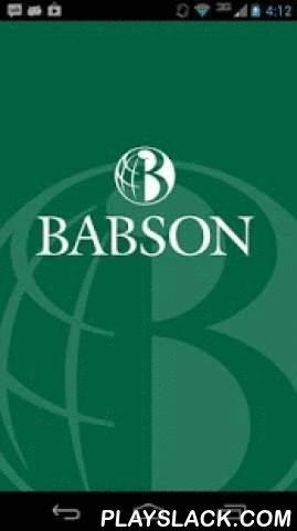 Babson College Alumni Mobile  Android App - playslack.com , The official Babson College Alumni app. Securely network and connect with the Babson community around the world. Includes a directory integrated with LinkedIn, maps, photos and more! Powered by EverTrue.