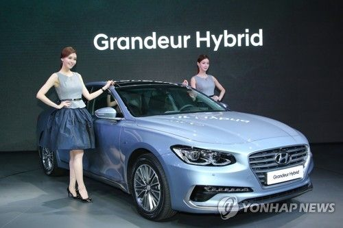 Hyundai Motor Co. has launched the Grandeur Hybrid that will add green credentials to its lineup as the South Korean carmaker competes with its Japanese