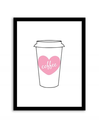 Free Printable Coffee Wall Art from @chicfetti #freeprintable