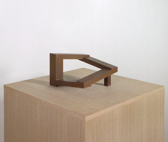 Simon Ungers, Speaking Architecture [Museum Model], 2000; Steel, 6 5
