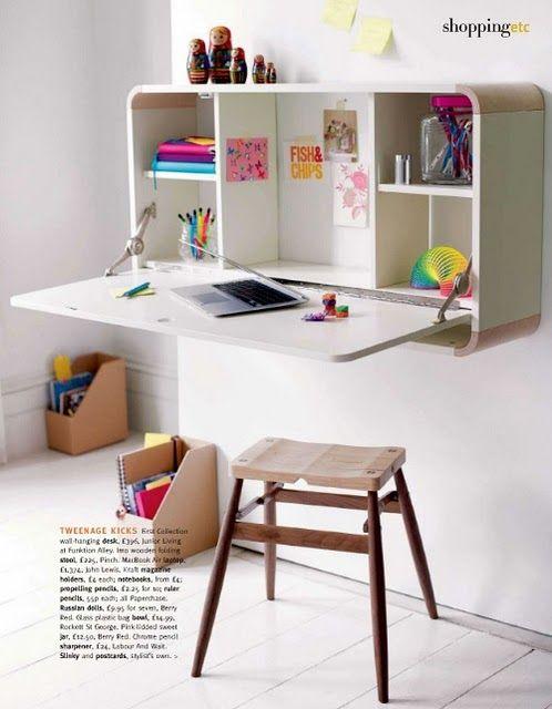Decoração: Escrivaninha/estante funcional, via Flickr.