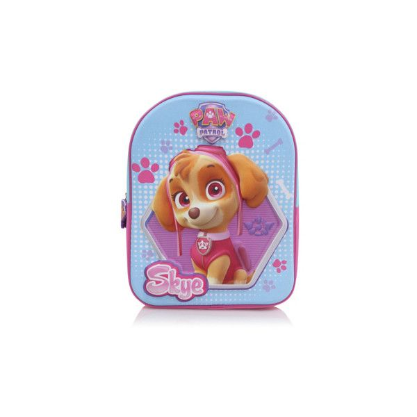 George Paw Patrol Rucksack ($7.53) ❤ liked on Polyvore featuring pink