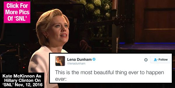Kate McKinnon's Hillary Clinton 'SNL' Opener: Fans React To Epic 'Hallelujah' Cover
