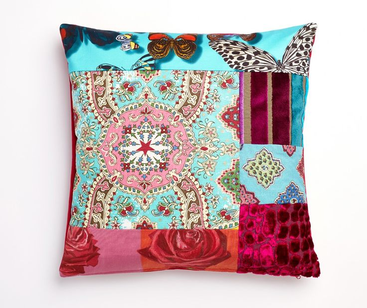 'Baker' Luxury Patchwork Cushion