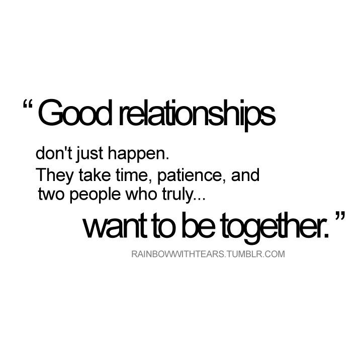 making it work in a relationship