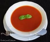 The quickest, easiest slimming world soup around, no chopping or peeling, just throw everything in a saucepan, blitz, heat and eat :D   1 carton chopped Tomatoes 1  Tin Baked Beans 2  Tins Carrots (drained) 1 or 2 Pickled Onions (taste depending) Veg Stock (made up with boiling water)  NOM!!!!!