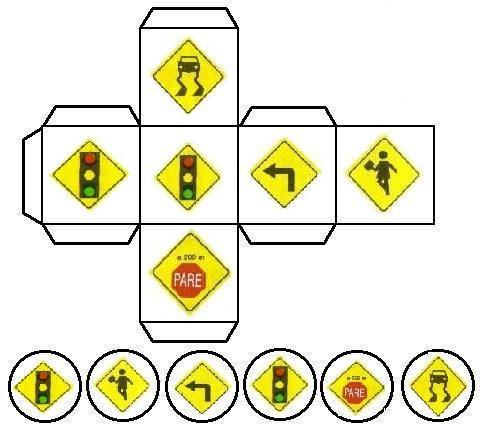 Juegos de señales de transito para niños - Imagui