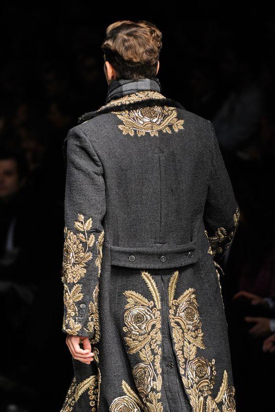 Dolce & Gabbana Coat Fall 2016