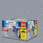 Rust-Oleum EpoxyShield 2 gal. Gray 2-Part High-Gloss Epoxy Garage Floor Coating Kit 251870 at The Home Depot - Mobile