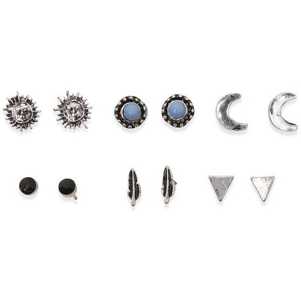 With Love From Ca Blue Moon Earring Pack (11,820 KRW) ❤ liked on Polyvore featuring jewelry, earrings, accessories, fillers, rings, stud earrings, blue jewelry, blue earrings, stud earring set and blue stud earrings