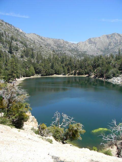 Crystal lake camp ground san gabriel river trail azusa for Crystal lake fishing