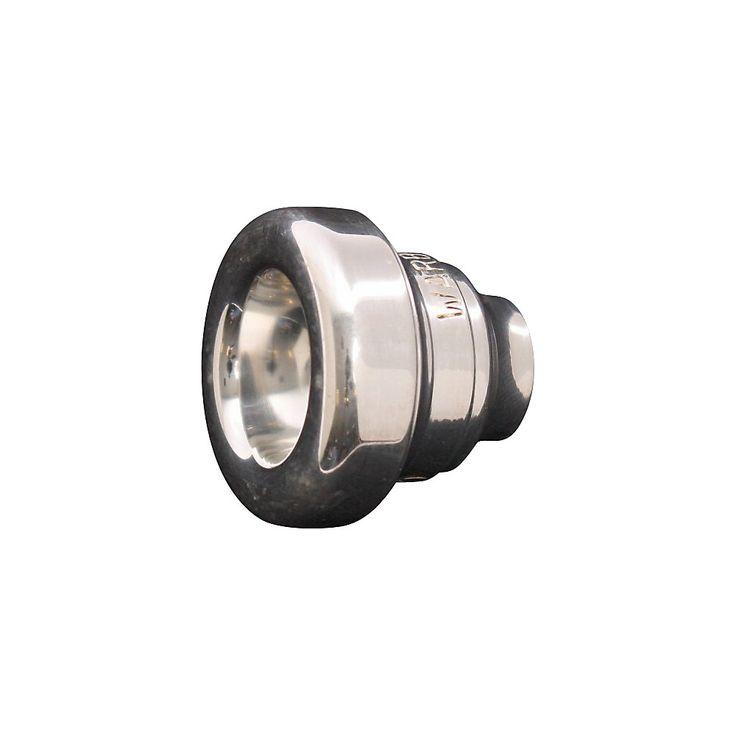 Warburton Two-Piece Tenor Trombone Mouthpiece System in Silver 4 Backb