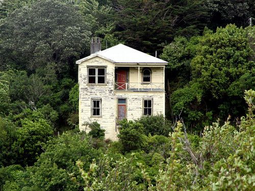 Old house in Mitcheltown, Wellington, New Zealand