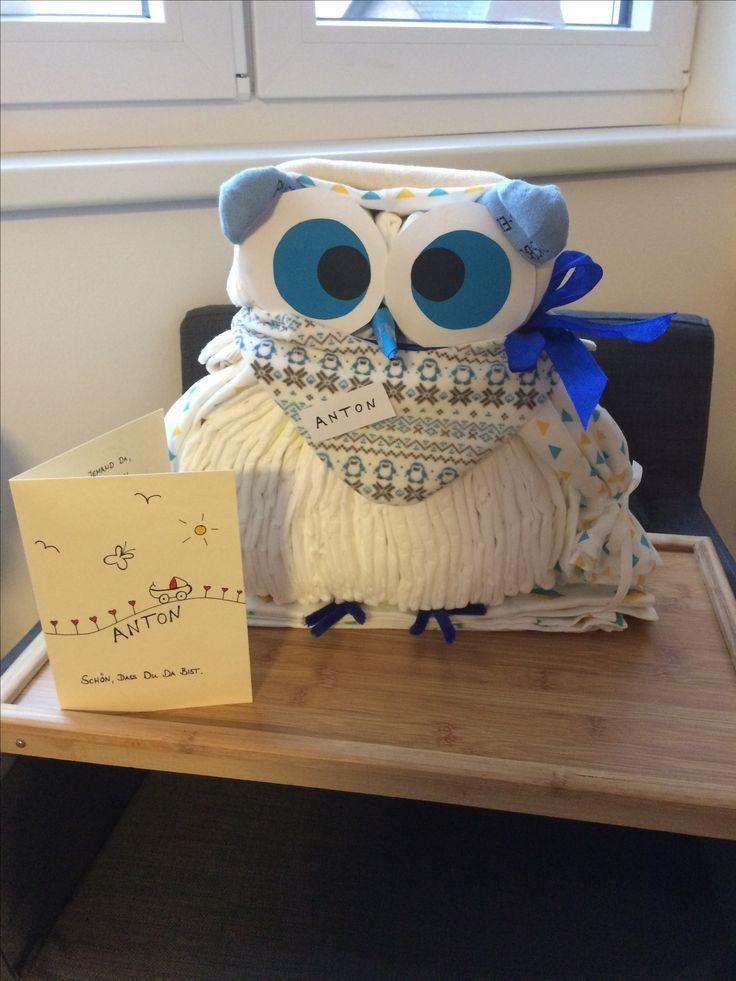 Youtube How To Make An Owl Diaper Cake