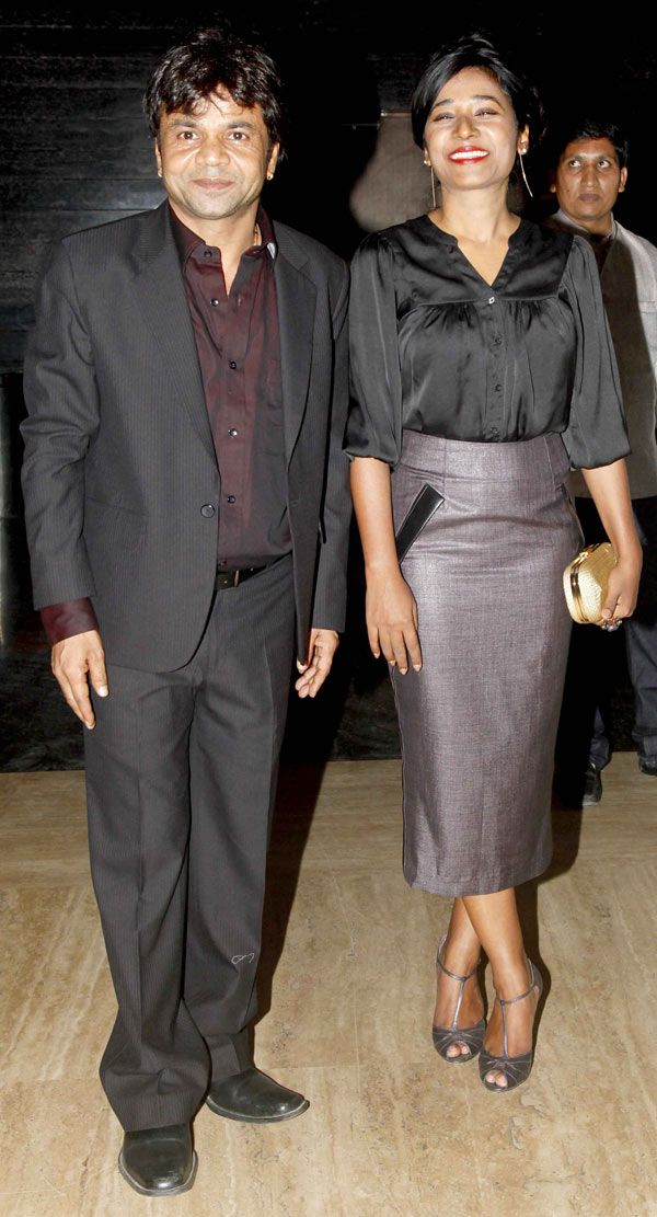 Rajpal Yadav with Tannishtha Chatterjee at special screening of 'Bhopal: A Prayer for Rain'. #Bollywood #Fashion #Style #Beauty