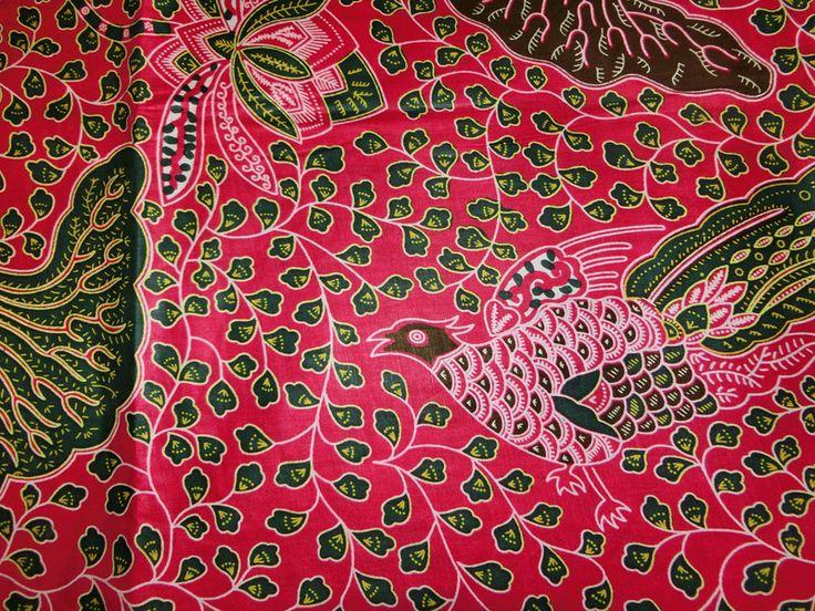 afrikanischer Batik-Stoff - Paradies pink von Perlen.Schmuck.Edles auf DaWanda.com