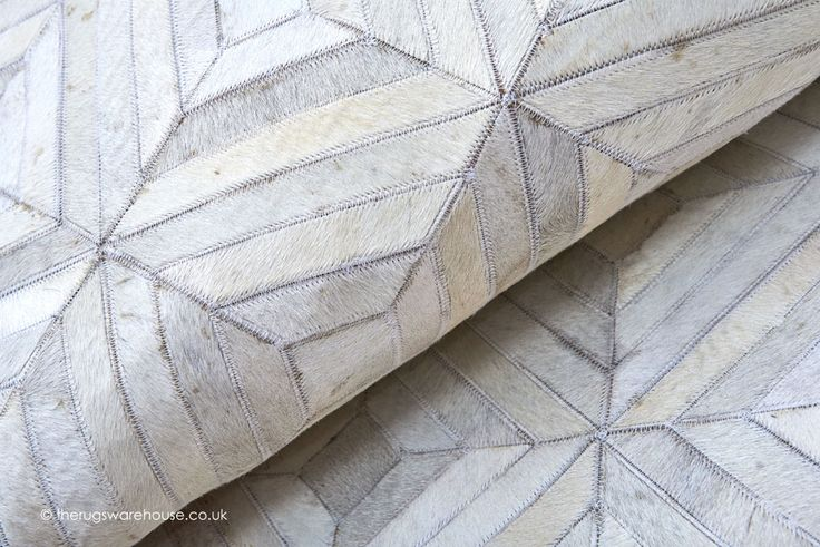 Gaucho Parquet Rug (texture close up), a handmade 100% cowhide leather rug with a distinct parquet pattern design http://www.therugswarehouse.co.uk/modern-rugs3/rodeo-rugs/gaucho-parquet-rug.html #rugs #luxury