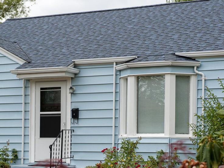 PABCO Premier In Blue Slate | Laminated Fiberglass Shingles | Beauty Image  Gallery | PABCO Roofing