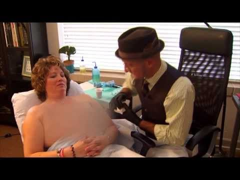 """The Michelangelo Of Nipple Tattoos  - In a small town north of Baltimore, a man has made a career out of making women become whole again. After preventative mastectomies, women are usually left with a reconstruction, but no nipple or areola. Vinnie Myers of Little Vinnie's Tattoo Shop helps clients traveling from all parts of the world who want to """"get a vinnie""""."""