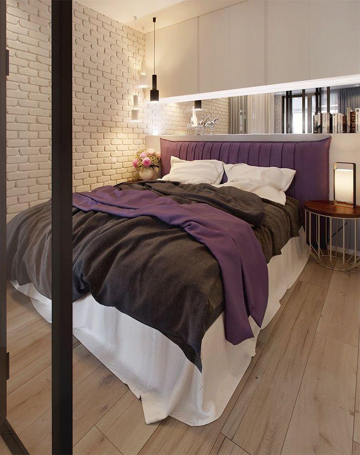 Apartamentos pequenos e de um quarto só sempre chamam a nossa atenção, principalmente se são lindos e inspiradores como este. Eles costumam nos mostrar que