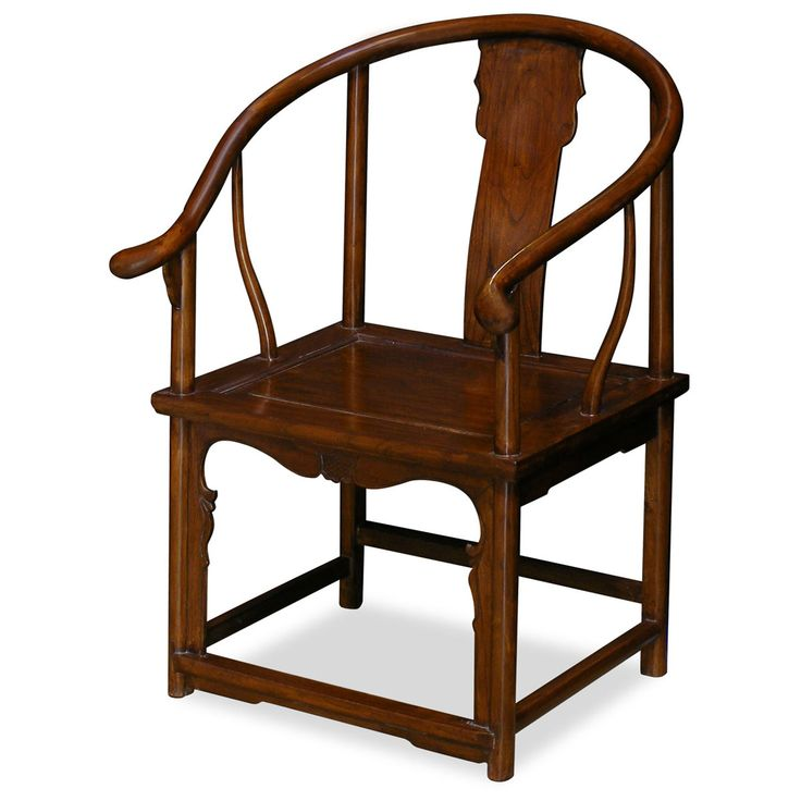 Elmwood Ming Tai Shi Arm Chair