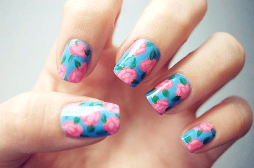Beautiful Vintage Manicure Designs | See more nail designs at http://www.nailsss.com/nail-styles-2014/