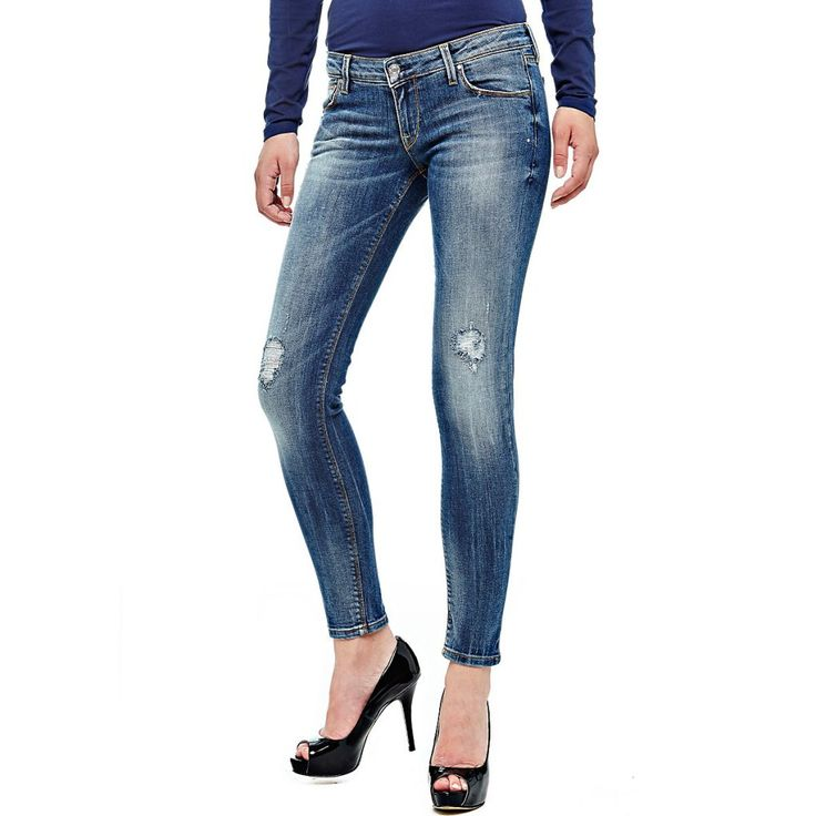 JEANS SKINNY CURVE X- GUESS