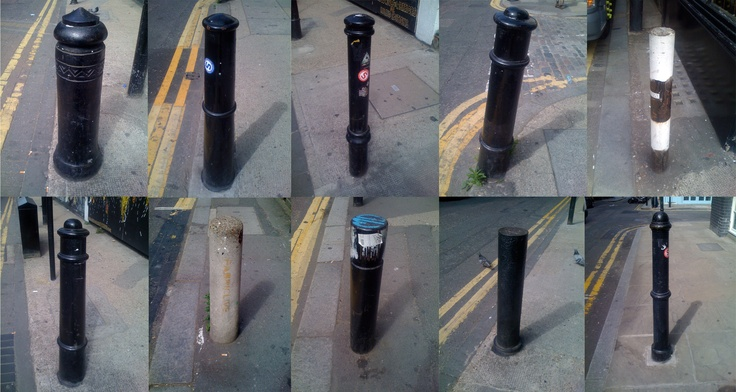 bollards of redchurch street