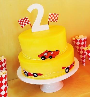Stylish Childrens Parties: Race Car Birthday Party: 4Th Birthday, Cakes Ideas, Racing Cars Birthday, Racing Cars Cakes, 1St Birthday, Parties Ideas, Cars Birthday Parties, Birthday Ideas, Birthday Cakes