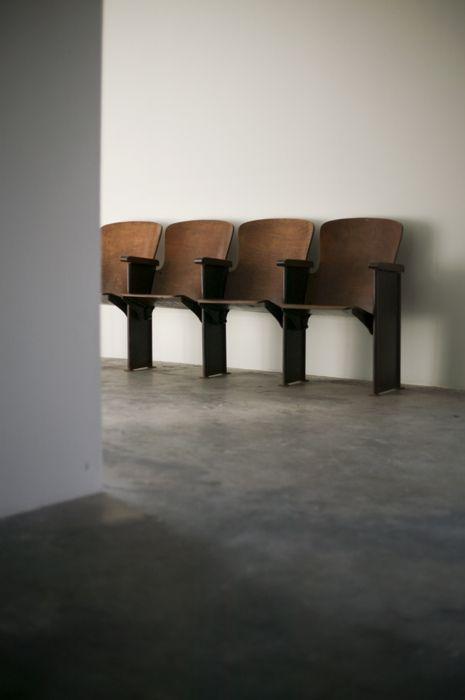simple chairs - white walls | #minimalism