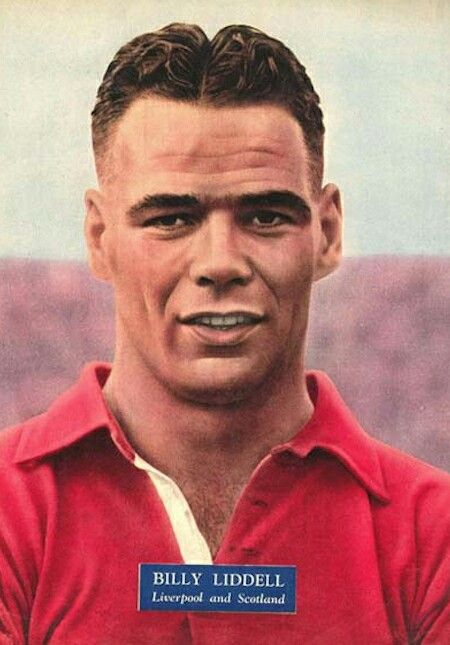 Billy Liddell of Liverpool in 1938.