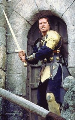 Val Kilmer in the movie Willow. I had such a crush on Mad Martigan!!!!