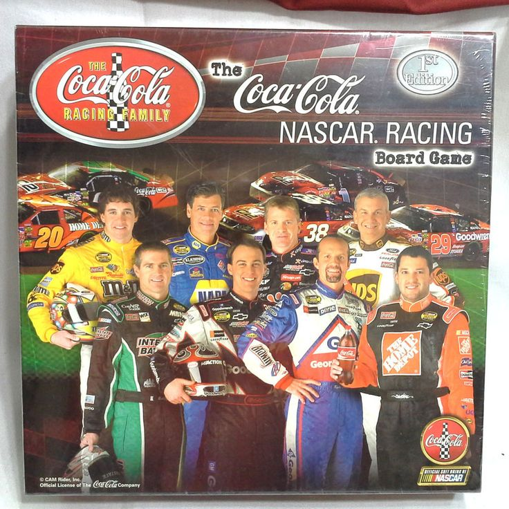 Factory Sealed Coca Cola Nascar Racing Game #CocaCola #All
