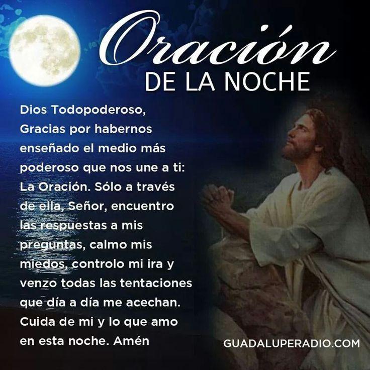 Oración de la noche.