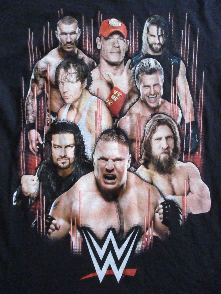 BROCK LESNAR JOHN CENA WWE WWF WRESTLING T SHIRT Randy Orton Roman Reigns SMALL - https://bestsellerlist.co.uk/brock-lesnar-john-cena-wwe-wwf-wrestling-t-shirt-randy-orton-roman-reigns-small/