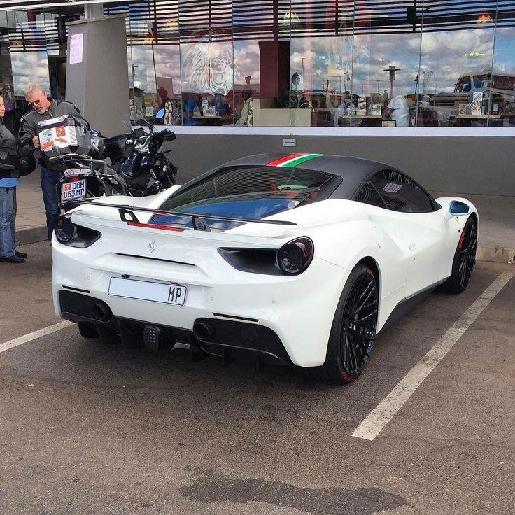 That Novitec wing really sits well on the 488 GTB. What do you all think?  Captured by @comfort_ubisi at the Alzu Petroport N4  #ExoticSpotSA #Zero2Turbo #SouthAfrica #Ferrari #488GTB #Novitec