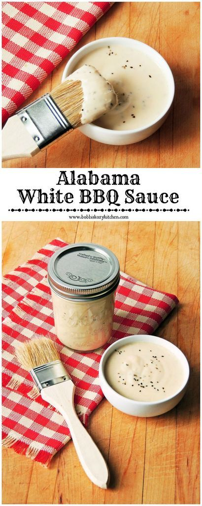 Alabama White BBQ Sauce Tangy and creamy, if you are looking for something different than your traditional BBQ sauce, you have come to the right place!