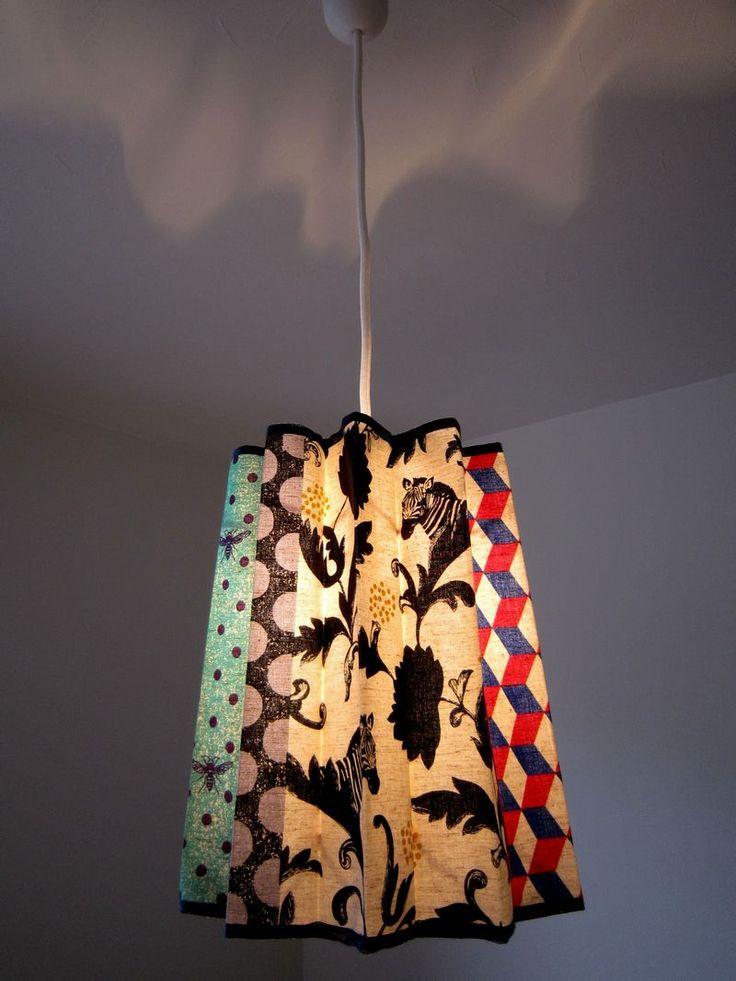 fabric lamp shade tutorial