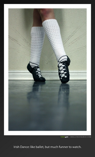 "Irish Dance: I don't think ""funner"" is technically a real word."