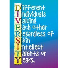 DIVERSITY !!!