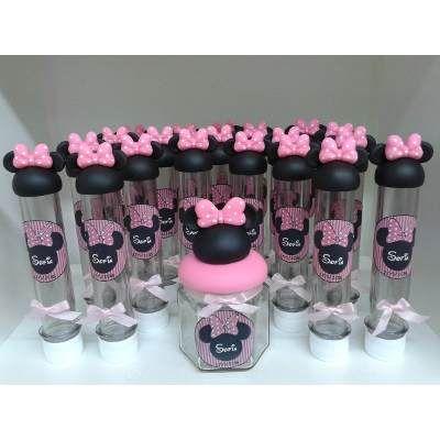 Tubos Golosineros Personalizados Pack X 10 Mickey-minnie Etc - $ 179,00 en MercadoLibre