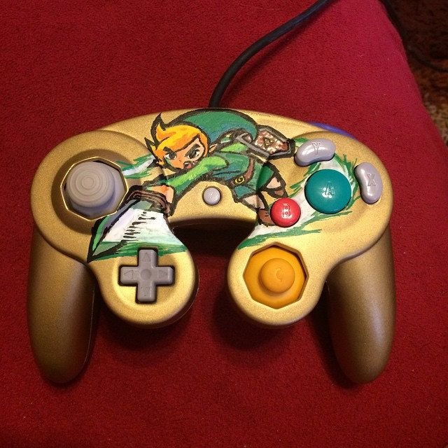 Hand Painted Game Consoles