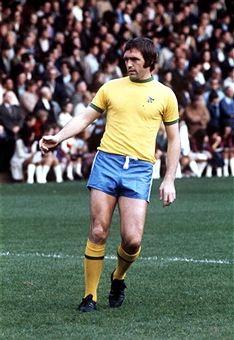 Jeff Astle West Bromwich Albion 1973